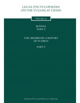 Legal Encyclopedia on the Yugoslav Crisis Volume 7e