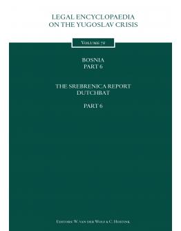 Legal Encyclopedia on the Yugoslav Crisis Volume 7f