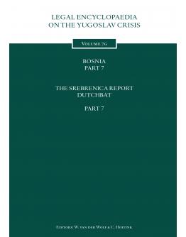 Legal Encyclopedia on the Yugoslav Crisis Volume 7g