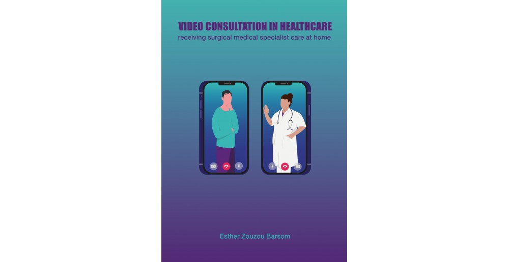 Video Consultation in Healthcare receiving surgical medical specialist care at home