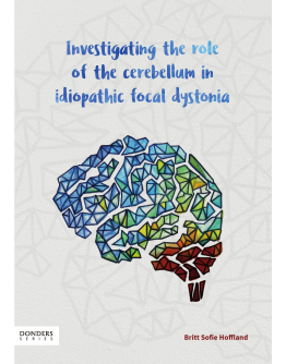 Investigating the role of the cerebellum in idiopathic focal dystonia