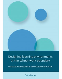 Designing learning environments at the school-work boundary
