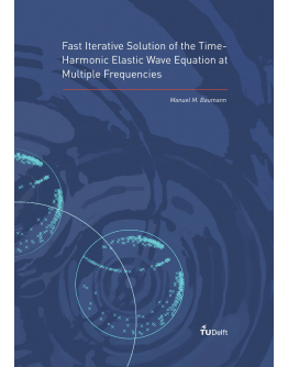 Fast Iterative Solution of the Time-Harmonic Elastic Wave Equation at Multiple Frequencies
