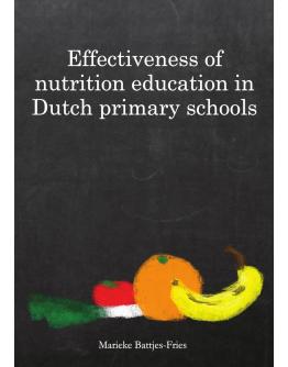 Effectiveness of nutrition education in Dutch primary schools