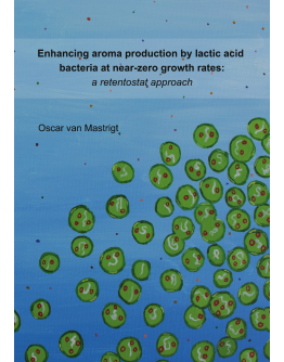 Enhancing aroma production by lactic acid bacteria at near-zero growth rates: a retentostat approach