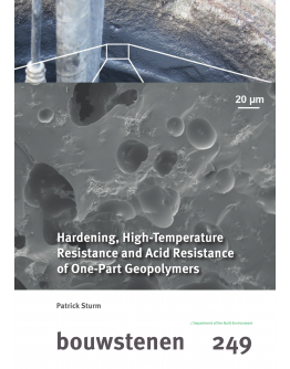 Hardening, High-Temperature Resistance and Acid Resistance of One-Part Geopolymers