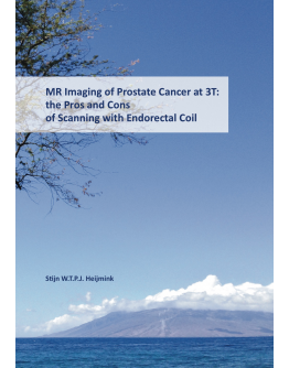 MR Imaging of Prostate Cancer at 3T: the Pros and Cons of Scanning with Endorectal Coil